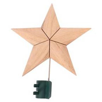 Wood Star Tree Topper - Wondershop™