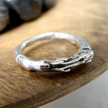 Silver Maple Twig Branch Ring