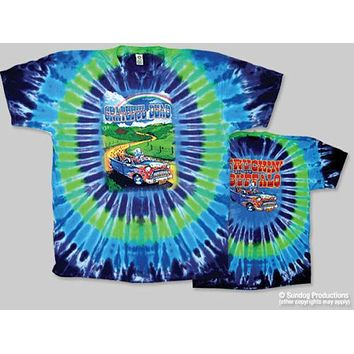 Grateful Dead Truckin' to Buffalo Tie Dye T-Shirt