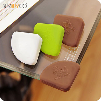 8Pcs/set Hot Baby Safety Products Silicon Corner Protector Furniture Desk Glass Table Edge Corner Guards for Kids Children