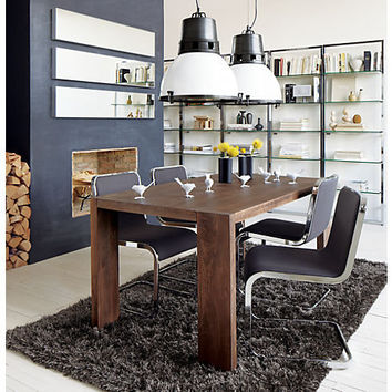 blox 35x63 dining table in dining tables from CB2
