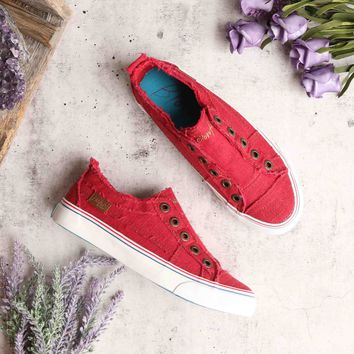blowfish - play sneakers - jester red
