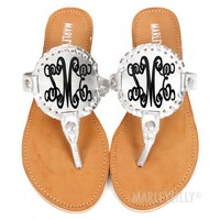 Monogrammed Shoes | Marleylilly
