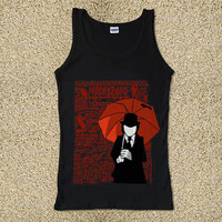 Umbrella Guy Mayday Parade for Tank Top Mens and Tank Top Girls