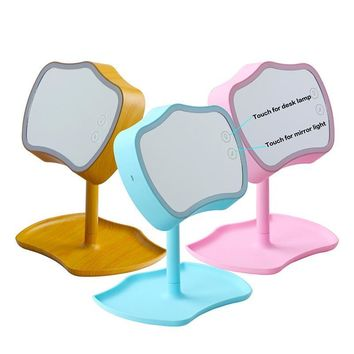Touch Screen Portable LED Makeup Mirror Light