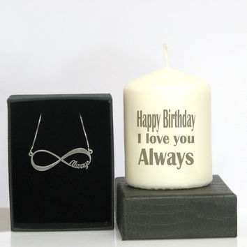 Greeting Card Candle for that perfect gift