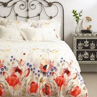 Garden Buzz Duvet by Michelle Morin Multi