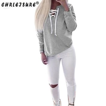long-sleeved cotton pullovers Sweatshirt