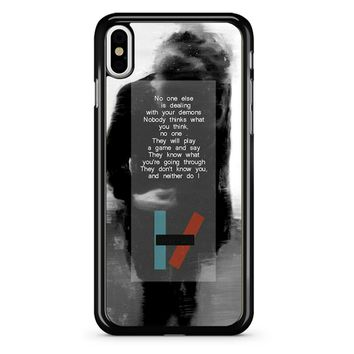 Twenty One Pilots Kitchen Sink iPhone X Case