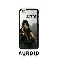 The Walking Dead Daryl Dixon Survive iPhone 6 Plus Case Auroid