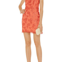 Alice + Olivia Dot lace dress – 50% at THE OUTNET.COM