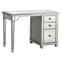 Hayworth Mirrored 3-Drawer Desk