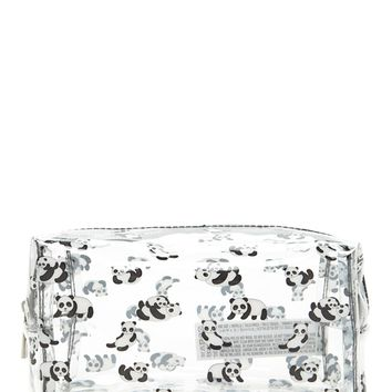 Panda Clear Makeup Bag