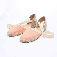 Classic Bow tie Canvas Espadrille