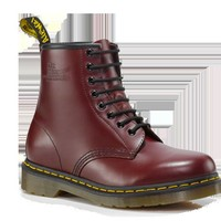 Dr Martens 1460 CHERRY RED SMOOTH - Doc Martens Boots and Shoes