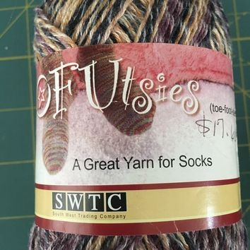 SWTC - TOFUTSIES - SOCK YARN MULTI-COLOR SELF-STRIPING #736