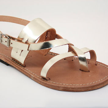 Handmade sandals, 100% High Quality Genuine Leather. Classic and stylish, handmade unisex sandals