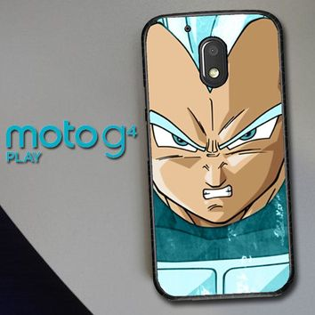 Vegeta Super Saiyan God Blue Z4286 Motorola Moto G4 Play Case