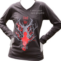 Will Graham  I feel like I'm fading T-shirt  long Sleeve Ver2. Hannibal