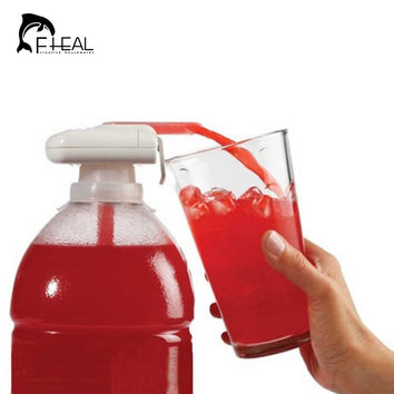 Creative Electric Automatic Juice Cocktail Water Dispenser with Drinking Straw Fruit Vegetable Kitchen Accessories for Party