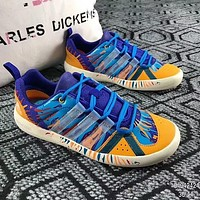 Adidas Popular Women Men Casual Color Graffiti Wading Sneakers Outdoor Quick-Drying Beach Sport Shoes I-ADD-MRY