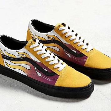 Vans Classics Old Skool Flats Shoes Sneakers Sport Shoes