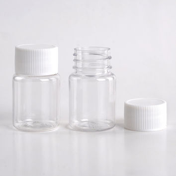 5 Pieces/Lot  15ML Portable Plastic Pill Box Medicine Case For Healthy Care Empty Pill Holders