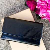 Audrey Wallet (Black) - STATUS ANXIETY