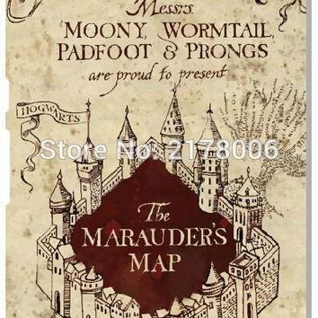 Harry Potter Marauders Map Phone Case For Sony Xperia Z Z1 Z2 Z3 Z4 Z5 Compact Mini E4 M C1904 C1905 M2 M5 C3 C4 SP M35h Cover