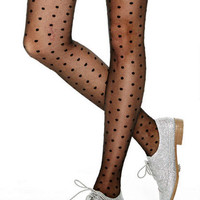 Swiss Dot Tights