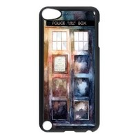 Protective Doctor Who Watercolor Tardis IPod Touch 5th Case