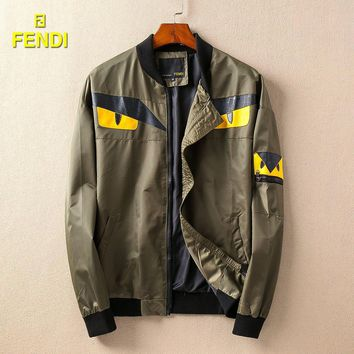 Day-First™ Boys & Men Fendi Cardigan Jacket Coat