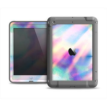 The Tie Dyed Bright Texture Apple iPad Mini LifeProof Fre Case Skin Set