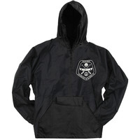 In Hearts Wake Men's  Ranger Windbreaker Black Rockabilia