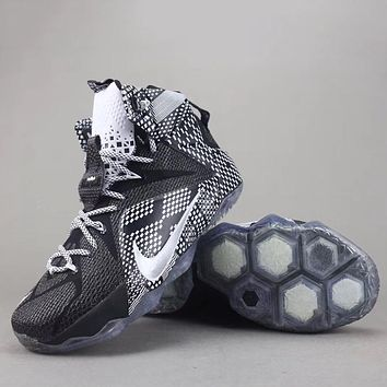 Trendsetter Nike Lebron 12 P.S Elite  Women Men Fashion Casual  Sneakers Sport Shoes