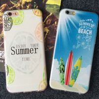 Summer Beach iPhone 5s 5se 6 6s Plus Case Best Cover + Gift Box 394