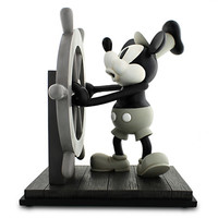 Disney Mickey Mouse ''Steamboat Willie'' Figure | Disney Store
