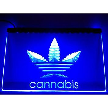 Cannabis Life - Light Up Sign - Multiple Colors