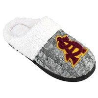 Arizona State Sun Devils Letter Slippers - Women's (Grey)