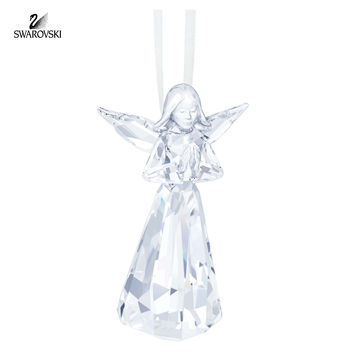 Swarovski Crystal Christmas Ornament ANGEL ORNAMENT 2015 #5135833