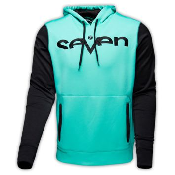 Seven Empire Fleece Pullover Aqua