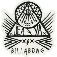 Billabong Les Punk Sticker Black One Size For Women 23197410001