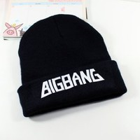Kpop Knitted Hat Gd Bigbang