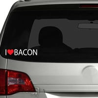 I Love Bacon Vinyl Wall Art FREE Shipping Two by showcase66
