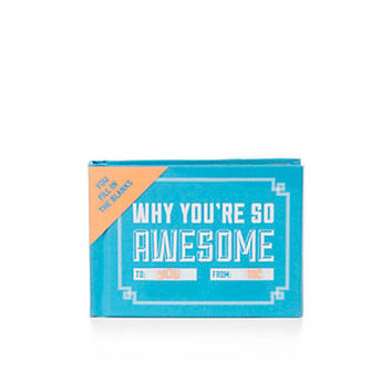 Why You're So Awesome Book | Books & More | Gift Ideas for Dad | Categories | C. Wonder