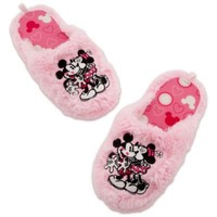 Minnie and Mickey Mouse Slippers for Women | Clothes | Adults | On Sale | Disney Store