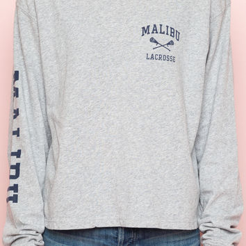 Gretchen Malibu Lacrosse Top - Prints - Graphics