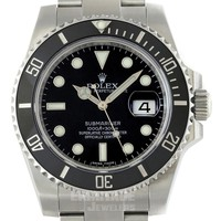 Rolex Submariner Mens Watch 116610 Box & Papers 2016