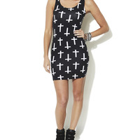 Cross Tank Bodycon Dress | Shop Dresses at Wet Seal