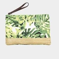 Tropical Leaf Nature Pouch